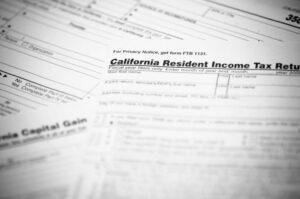 california tax form