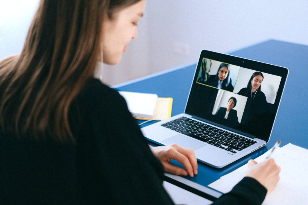 tips for CPAs working remotely video meeting